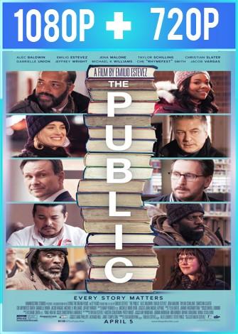 The Public (2018) HD 1080p y 720p Latino Dual