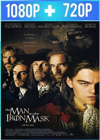 El hombre de la máscara de hierro (1998) HD 1080p y 720p Latino 5.1 Dual