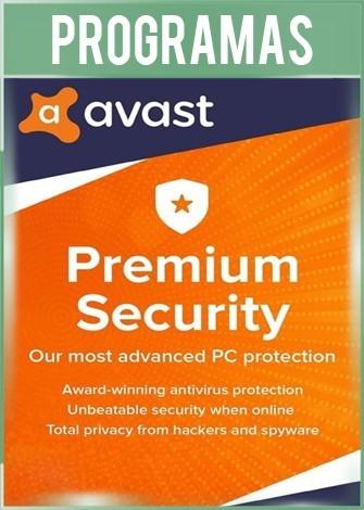 Avast Premium Security Versión 20.4 Full Español