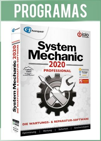 System Mechanic Pro Versión Full Español