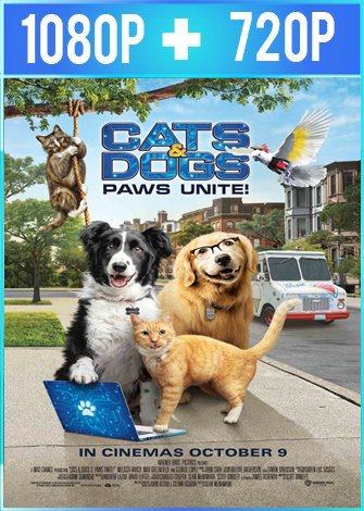 Como perros y gatos 3: ¡Todos a una! (2020) HD 1080p y 720p Latino Dual