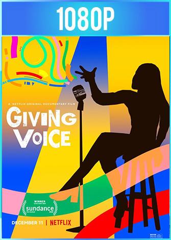 Giving Voice: Competencia de monólogos en Broadway (2020) Documental HD 1080p Latino Dual