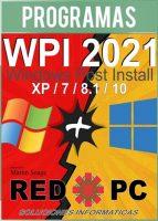WPI 2021 Windows Post Install full en Español (RED PC)