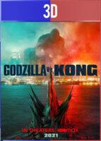 Godzilla vs. Kong (2021) 3D SBS Latino Dual