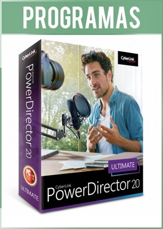 CyberLink PowerDirector Ultimate Versión 20 Full