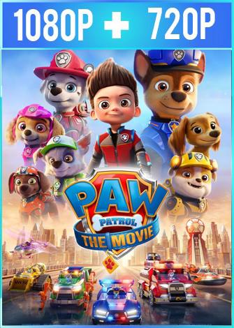 Paw Patrol: La Película (2021) HD 1080p y 720p Latino Dual