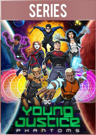 Young Justice: Phantoms Temporada 4 HD 1080p Latino Dual